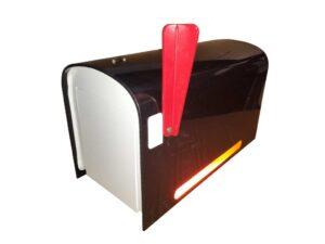 Rural Mailbox - Black FREE SHIPPING