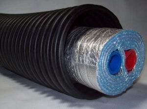 3 Wrap OB Insulated Pipe